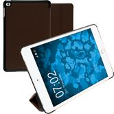 Artificial Leather Case iPad Mini 4 Tri-Fold brown