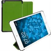 Artificial Leather Case iPad Mini 4 Tri-Fold green