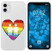 Apple iPhone 11 Silicone Case pride M4