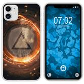 Apple iPhone 11 Silicone Case Element fire M3