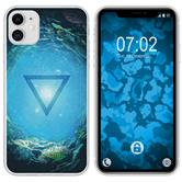 Apple iPhone 11 Silicone Case Element water M4