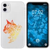 Apple iPhone 11 Silicone Case floral M2-2