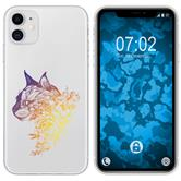 Apple iPhone 11 Silicone Case floral M2-3