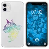 Apple iPhone 11 Silicone Case floral M2-4