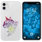 Apple iPhone 11 Silicone Case floral M2-5