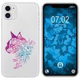 Apple iPhone 11 Silicone Case floral M2-6