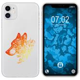 Apple iPhone 11 Silicone Case floral M3-2