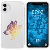 Apple iPhone 11 Silicone Case floral M3-3
