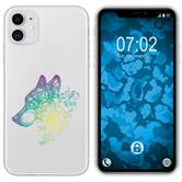 Apple iPhone 11 Silicone Case floral M3-4