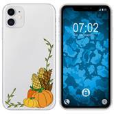 Apple iPhone 11 Silicone Case autumn M5