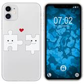Apple iPhone 11 Silicone Case in Love M1