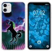 Apple iPhone 11 Silicone Case Retro Wave M2