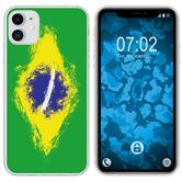 Apple iPhone 11 Silicone Case WM Brazil M3