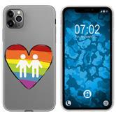 Apple iPhone 11 Pro Silicone Case pride M3