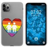 Apple iPhone 11 Pro Silicone Case pride M4