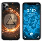 Apple iPhone 11 Pro Silicone Case Element fire M3