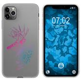 Apple iPhone 11 Pro Max Silicone Case floral M7-6