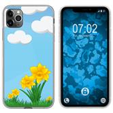 Apple iPhone 11 Pro Silicone Case Easter M4