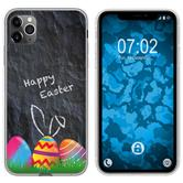Apple iPhone 11 Pro Max Silicone Case Easter M6