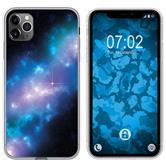 Apple iPhone 11 Pro Max Silicone Case  Blue Belt M4