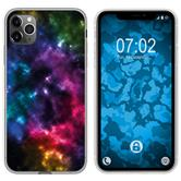 Apple iPhone 11 Pro Max Silicone Case  Nebula M8