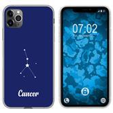Apple iPhone 11 Pro Max Silicone Case Zodiac M3