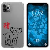 Apple iPhone 11 Pro Silicone Case Chinese Zodiac M12