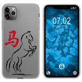 Apple iPhone 11 Pro Max Silicone Case Chinese Zodiac M7