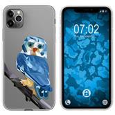 Apple iPhone 11 Pro Max Silicone Case vector animals M1