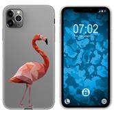 Apple iPhone 11 Pro Silicone Case vector animals M2