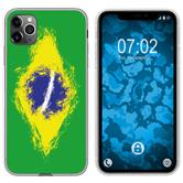 Apple iPhone 11 Pro Max Silicone Case WM Brazil M3