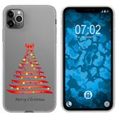 Apple iPhone 11 Pro Max Silicone Case Christmas X Mas M1