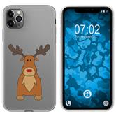 Apple iPhone 11 Pro Max Silicone Case Christmas X Mas M3