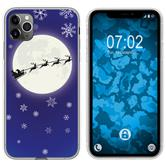 Apple iPhone 11 Pro Max Silicone Case Christmas X Mas M4