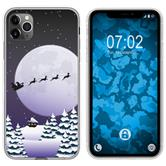 Apple iPhone 11 Pro Max Silicone Case Christmas X Mas M5