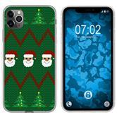 Apple iPhone 11 Pro Max Silicone Case Christmas X Mas M7