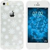 Apple iPhone 5 / 5s / SE Silicone Case Christmas X Mas M2