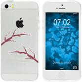 Apple iPhone 5 / 5s / SE Silicone Case Easter M1
