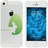 Apple iPhone 5 / 5s / SE Silicone Case Easter M2