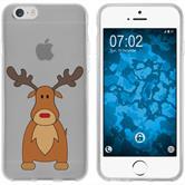 Apple iPhone 6s / 6 Silikon-Hülle X Mas Weihnachten  M3