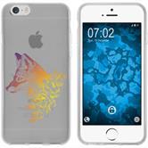 Apple iPhone 6 Plus / 6s Plus Silikon-Hülle Floral  M1-3