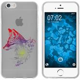 Apple iPhone 6 Plus / 6s Plus Silicone Case floralFox M1-5