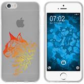 Apple iPhone 6 Plus / 6s Plus Silikon-Hülle Floral  M2-2