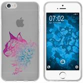 Apple iPhone 6 Plus / 6s Plus Silicone Case floral M2-6