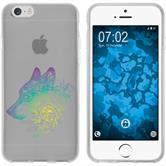 Apple iPhone 6s / 6 Silikon-Hülle Floral  M3-4