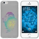 Apple iPhone 6 Plus / 6s Plus Silicone Case floral M6-4