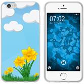 Apple iPhone 6 Plus / 6s Plus Silicone Case Easter M4