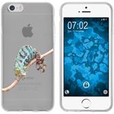 Apple iPhone 6 Plus / 6s Plus Silicone Case vector animals M7