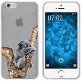 Apple iPhone 6 Plus / 6s Plus Silicone Case vector animals M9