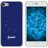 Apple iPhone 7 / 8 Custodia in Silicone segno zodiacale  M12